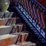 Just a Vessel - Painting by Helen Kleczynski