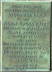 Adam Crosswhite Marker Marshall Michigan